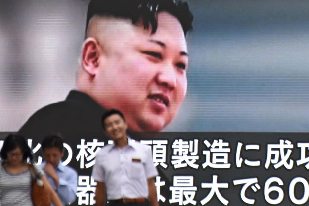 "North Korea's Korean People's Army responded saying the ""air pirates of Guam"" were in the skies above South Korea ""simulating an actual war"" — and that they needed to retaliate. The statement, according to the state-run Korean Central News Agency, called the US territory the ""the outpost and beachhead for invading"" North Korea and said it would make ""an enveloping fire"" around Guam."