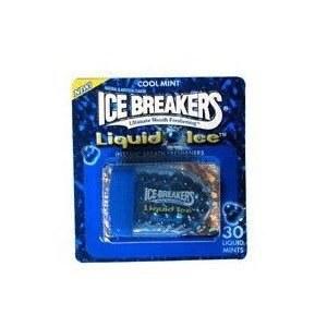 Liquid Ice Breakers in a blue packaging