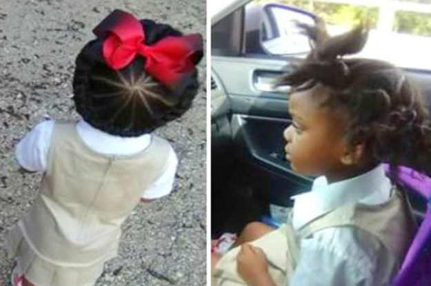 This Little Girl S Before And After School Hairdo Is Going Viral