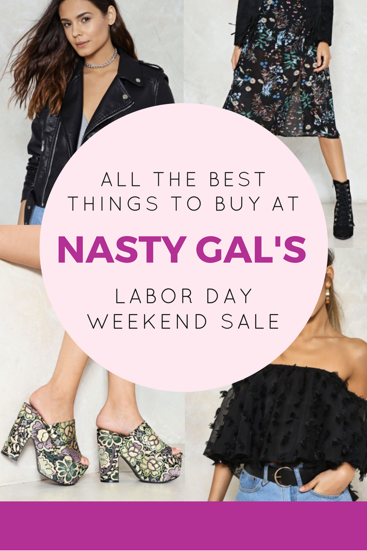 all the best things to buy at nasty gal 39 s labor day weekend sale. Black Bedroom Furniture Sets. Home Design Ideas