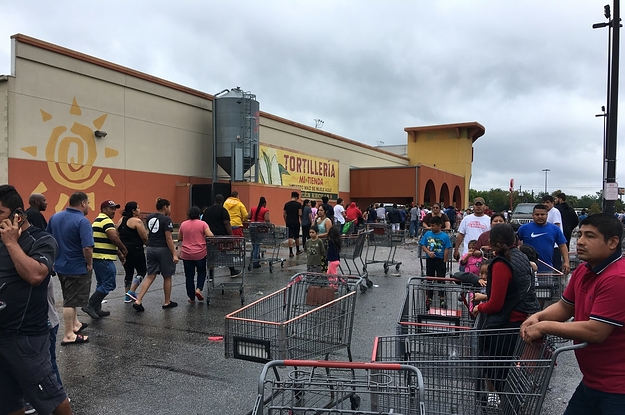 Groceries Are Running Low In Houston, And People Are