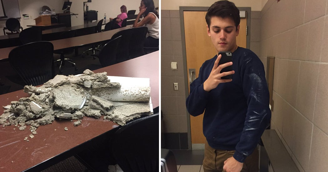 This College Student Got Hit In The Head With A 1 Pound