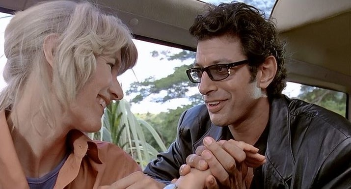The two sweethearts also got engaged after Jurassic Park, and they stayed together for two years before eventually splitting up.