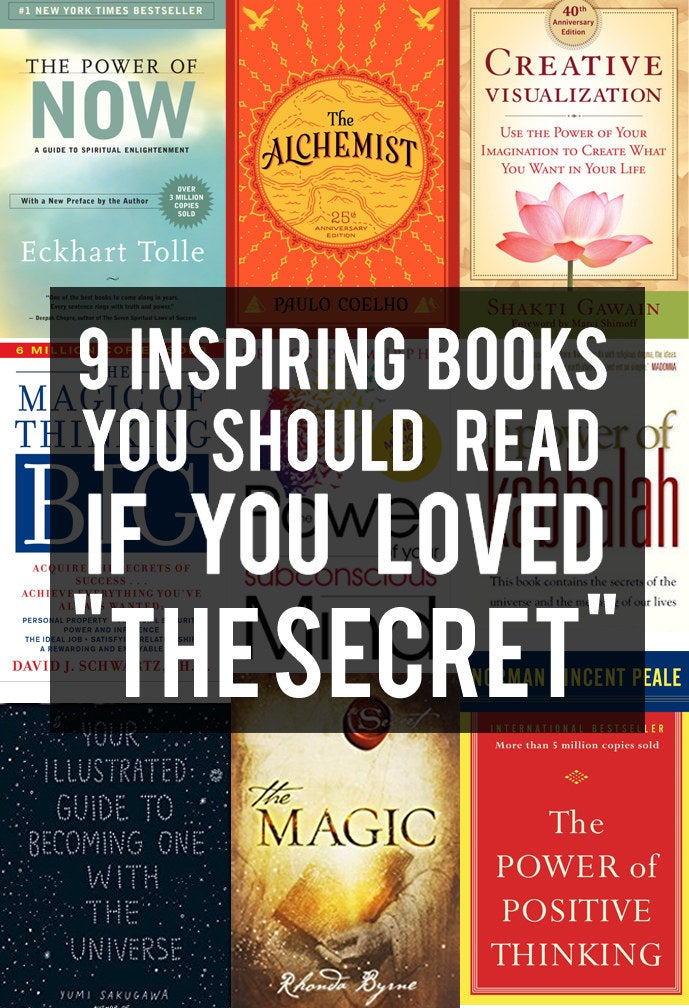 9 Inspiring Books That Should Be As Famous As The Secret