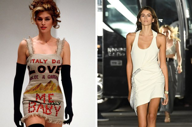 Cindy Crawford S Daughter Just Walked The Runway For The
