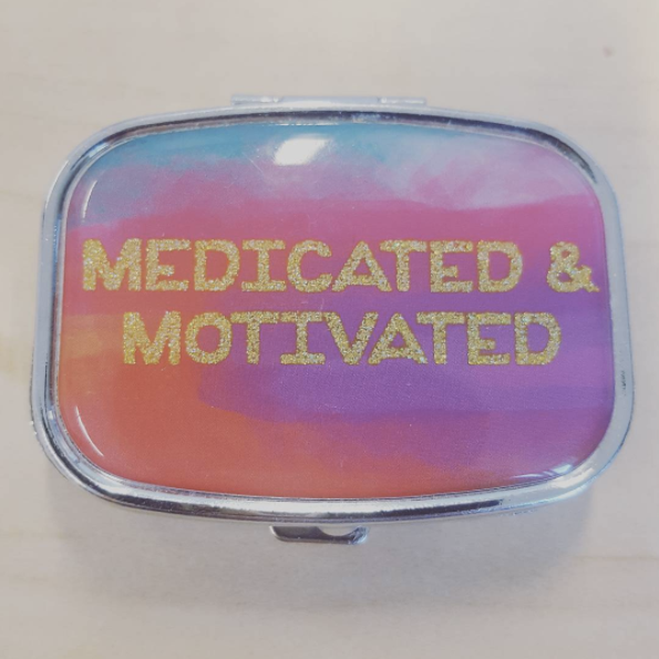 Or you've actually never felt better since going on medication, and it's really benefited your everyday life.