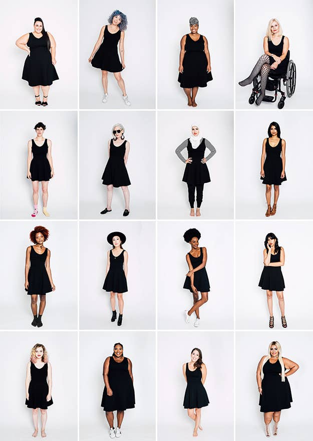 We Asked 17 Women To Style The Same Black Dress And They Slayed c30daefb6