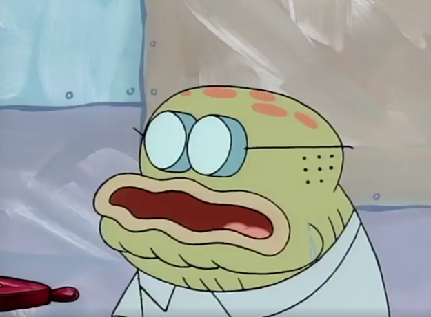 You remember Old Man Jenkins from SpongeBob SquarePants? My whole life I thought this was him: