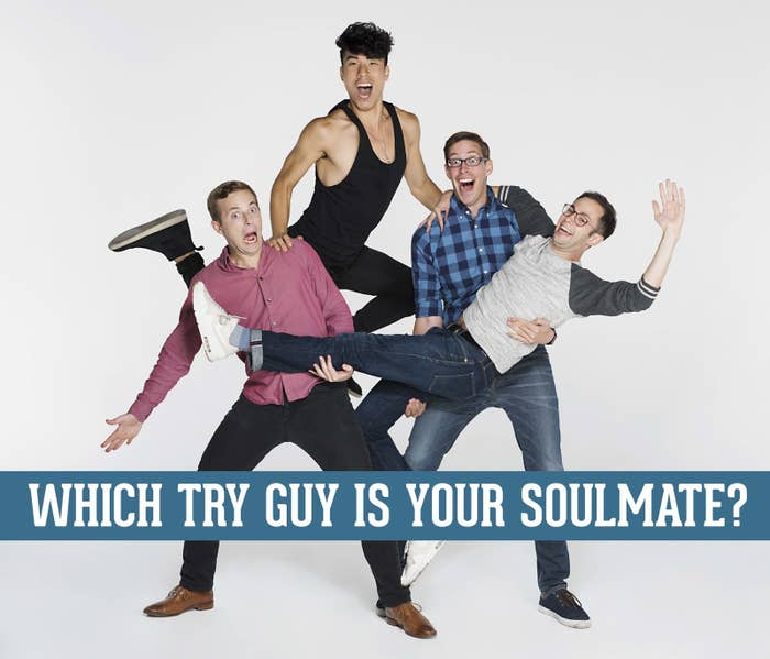 Which Try Guy Is Your Soulmate Based On Your Deepest