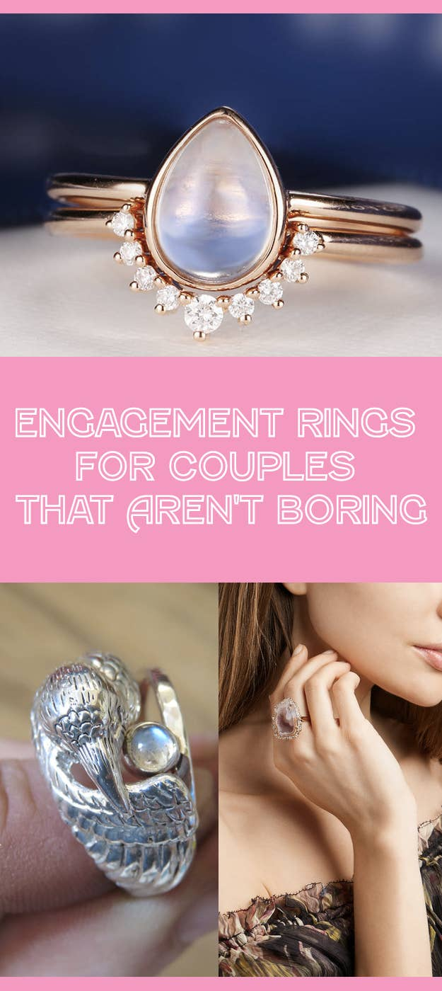 31 Engagement Rings For People Who Aren\'t Boring