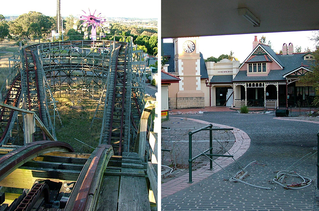 21 Eerie Photos Of Wonderland Sydney After It Closed