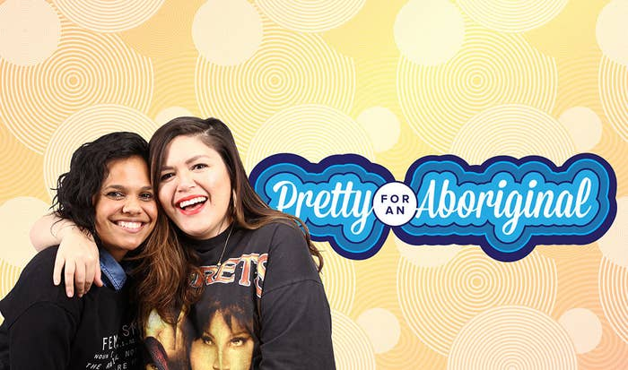 In the first season of Pretty For An Aboriginal, Nakkiah and Miranda unpack the influence of African-American popular culture and politics on young black people in Australia.And, they talk honestly about weight, relationships, dick pics, being a boss in the male-dominated film & TV industries, building a First Nations support system on social media, and why presentation really, truly, definitely matters.