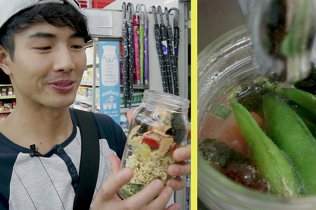 This Thai YouTuber Is Cooking Up Some Crazy 7/11 Food Hacks