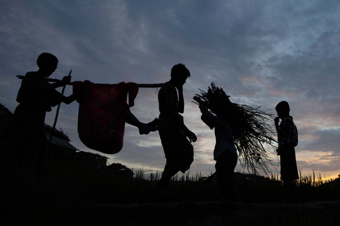 Hundreds of thousands of Rohingya have escaped from the country's western Rakhine state into Bangladesh in recent months following renewed attacks from the Burmese military.