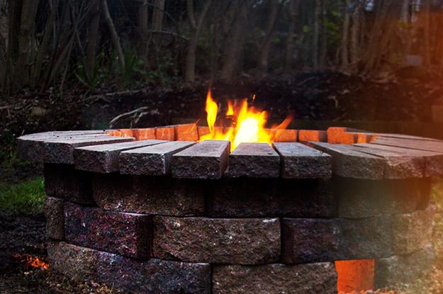 Diese Feuerstelle Für Den Garten Kostet Nicht Viel, Sieht Aber Umso Besser  Aus