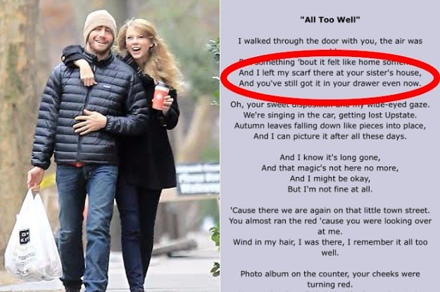 "Taylor Swift's ""All Too Well"" Scarf Really Could Be At Maggie Gyllenhaal's House"