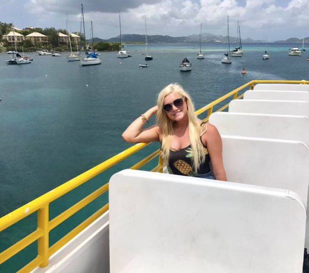 A few days after Hurricane Irma shredded the small Caribbean island of St. Thomas, Kendra Wagner and some friends took a drive along the mangled roads to take in the damage.
