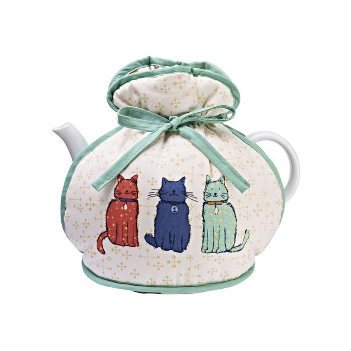 """Promising review: """"This was a present for my Aunty who had scoured the shops trying to find one. They're much better than ordinary tea pot covers apparently. I thought it was a bit too expensive, but it is good quality and very well made."""" – SusielibsGet it at Amazon, £12.39"""