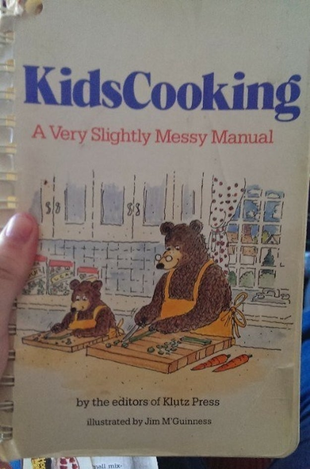 Open up this kid's cookbook for basic food combinations that taste amazeballs.