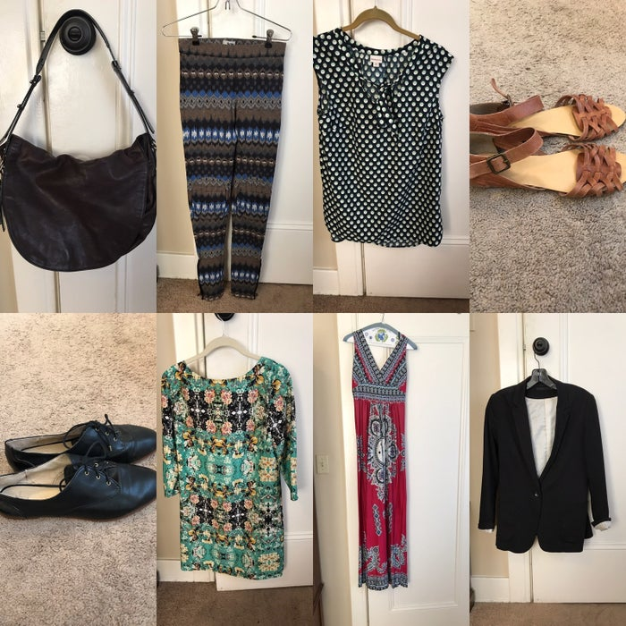 Everything here sold except for the leggings in the top row. (Want them?)