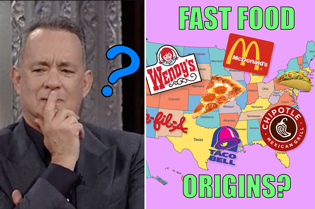 Can You Guess What States These Fast Food Chains Came From?