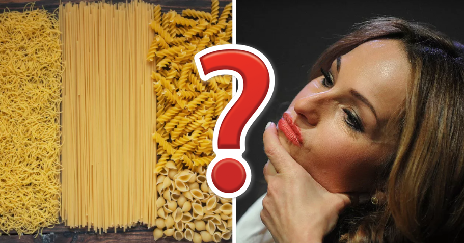 There Are Over 140 Shapes Of Pasta, How Many Can You Name?