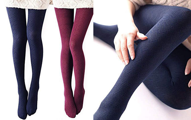 Only Faith Girls Winter Solid Thicken Fleece Tights Leggings Pants Pantyhose