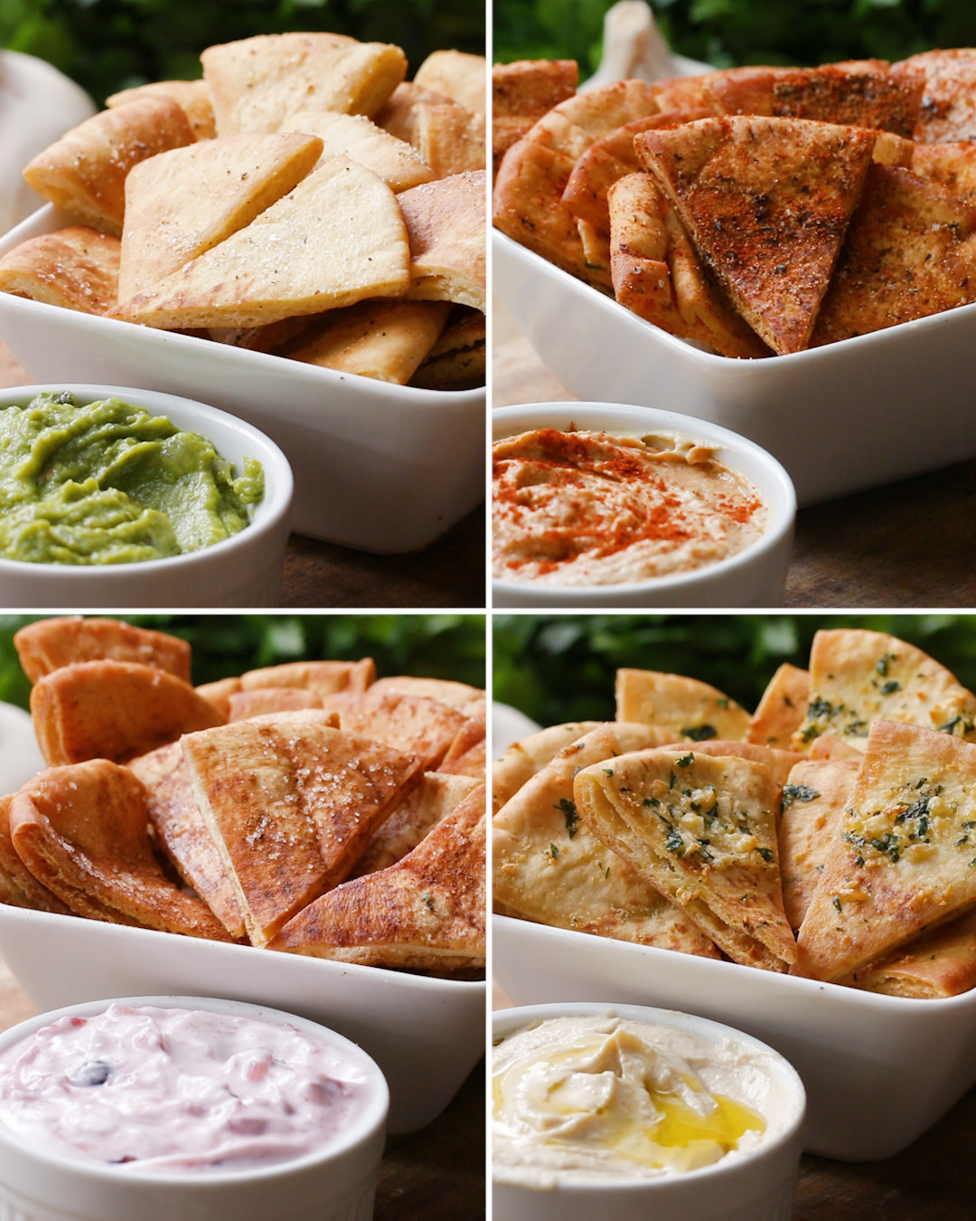 Get Your Snack On With These Pita Chips 4 Ways