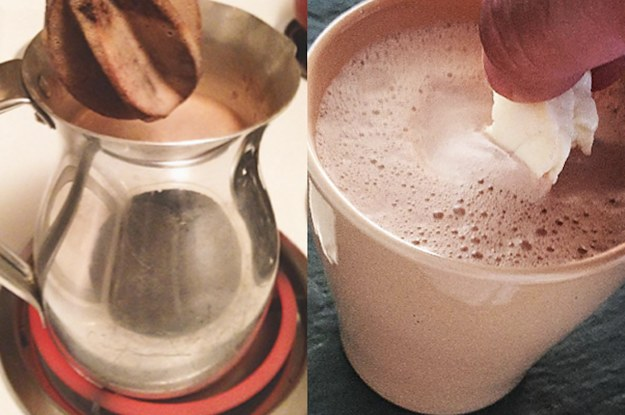 Cheese And Hot Chocolate Is The Food Combination You Need To Try