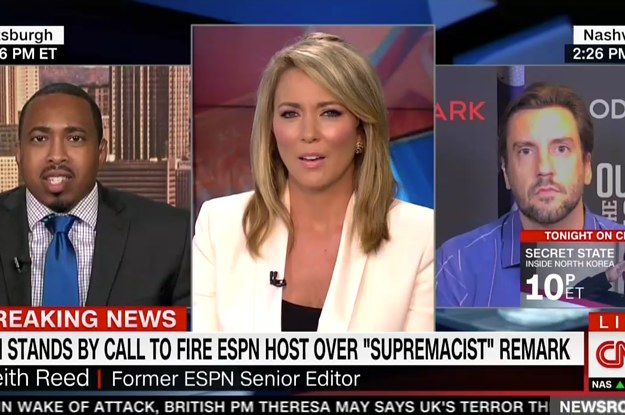 A CNN Anchor Had To Abruptly End An Interview After A Guest Repeatedly Brought Up Boobs