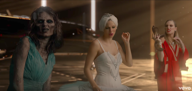 Swift rocks many different looks throughout that video, but Zombie Taylor is easily one of her most iconic.