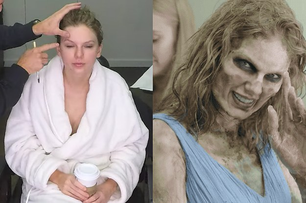 This Video Of Taylor Swift Getting Turned Into A Zombie ...