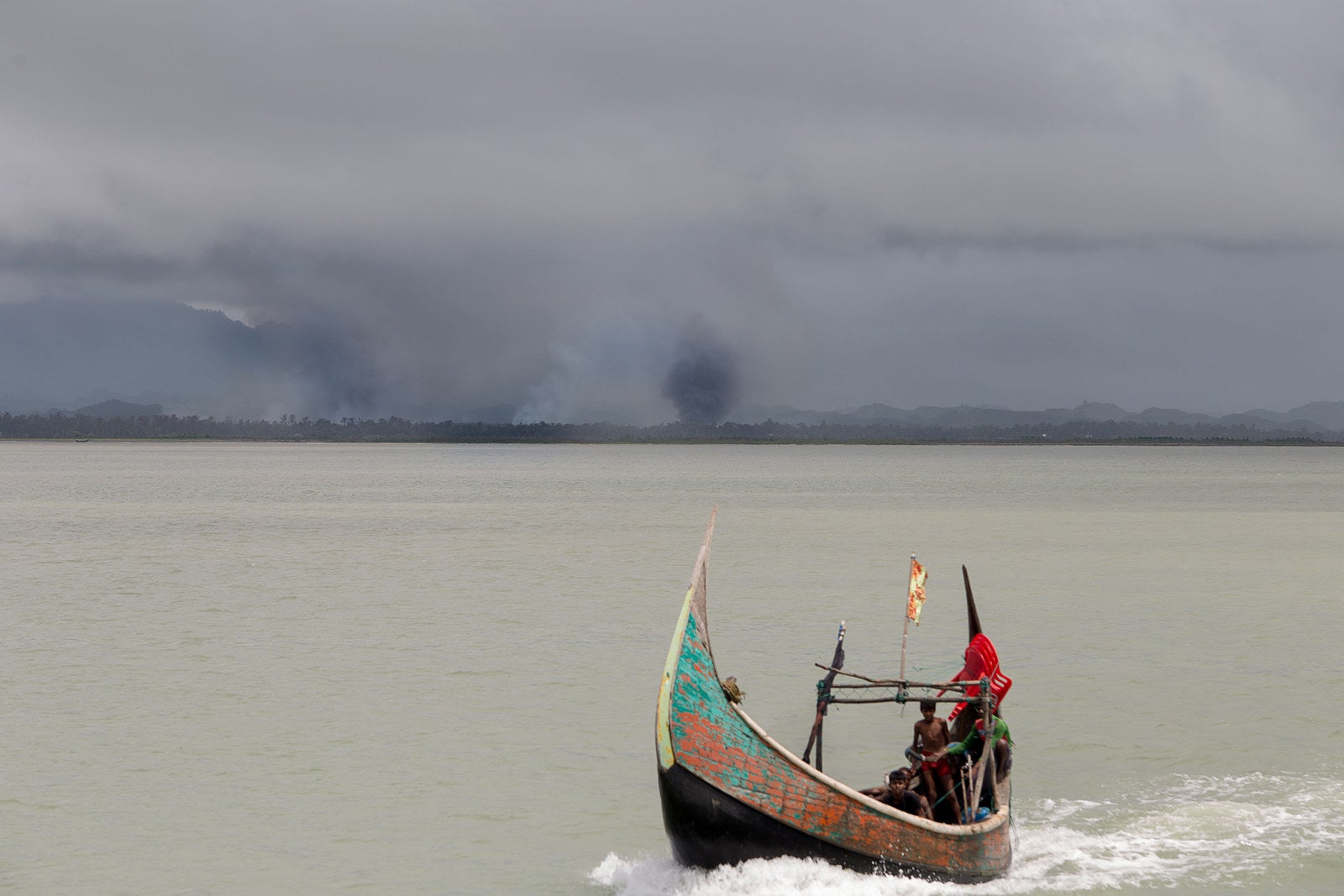 smugglers are demanding a lot of money to bring rohingyas to safety