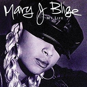The cover of Mary J. Blige's debut album