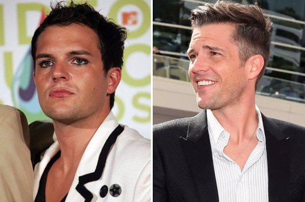 21 Guys You Had The Hots For In The '00s: Then And Now