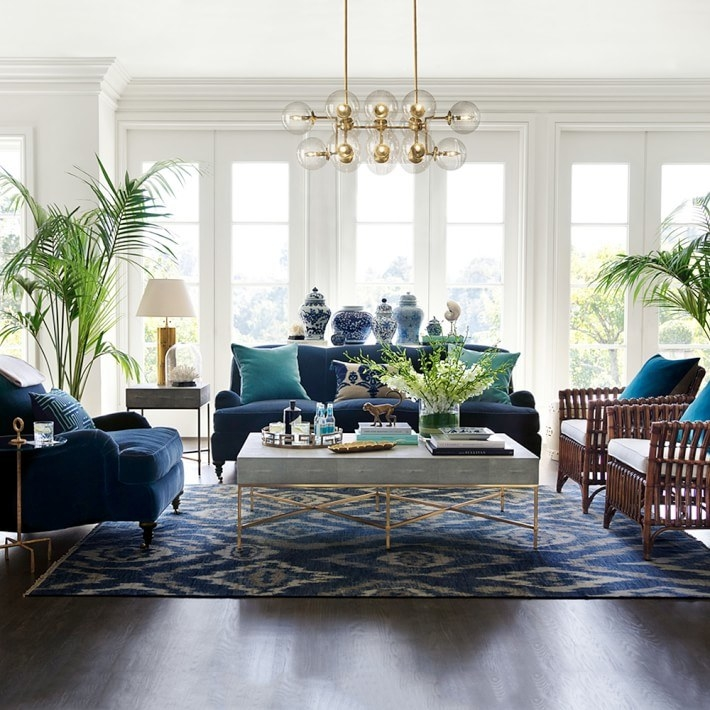 Williams Sonoma Home Has Gorgeous Pieces To Help Turn Your Living Room Into  An HGTV After Photo.