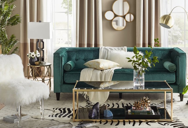 Good Styles: Microfiber, Leather, Cotton, And Velvet Sofas In Every Possible  Style.