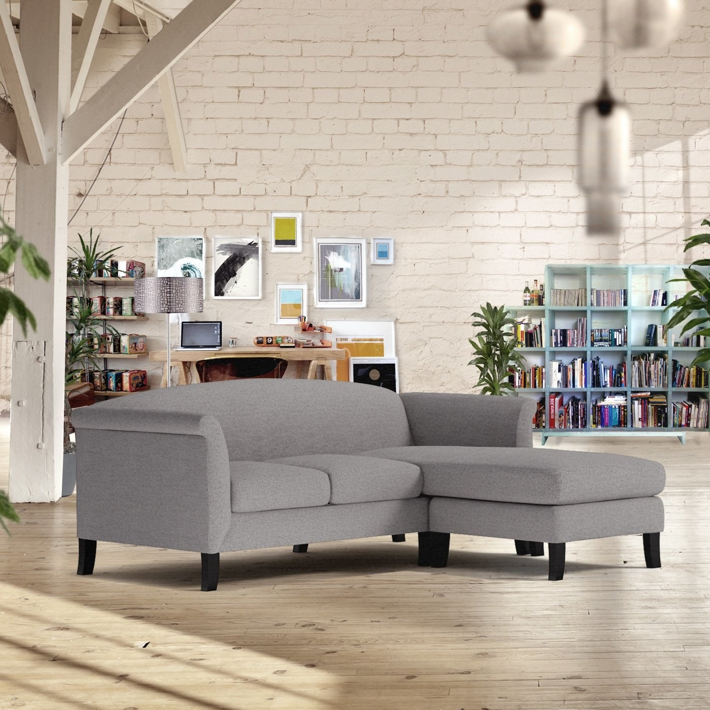 Charmant Styles: Find Customizable Reversible Chaise Sofas, Apartment Size Sofas,  Sectionals, Sleeper