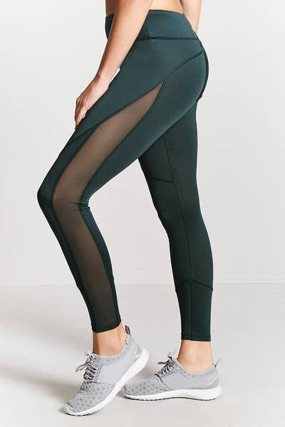 a7027952c767bd Mesh paneled leggings that once and for all prove that it is, in fact, easy  being green.