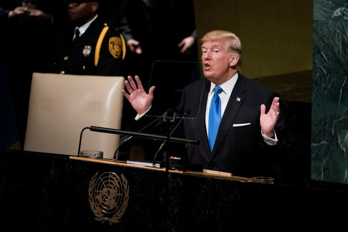 "From his nationalist tone to his threat to ""destroy"" North Korea if need be, it was definitely a sharp shift from the last few decades at the United Nations."