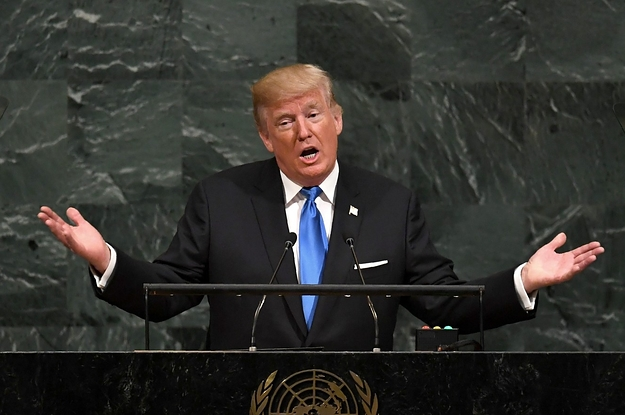 Trump Got Some Fairly Awkward Silence At This One Line In His UN Speech