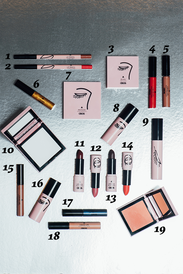 1. Sturdy lip liner: $82. 1/2 Full lip liner: $83. Acceptance blush: $134. Prove It matte liquid lipstick: $11.505. Observant matte liquid lipstick: $11.506. Straight Up liquid eyeliner: $9.507. Bulletproof bronzer: $13.508. Flawed highlighter stick: $14.509. Bossy mascara: $1310. Just Breathe translucent powder: $16 11. Unarmed satin lipstick: $11.5012. Uncompromising matte lipstick: $11.5013. Doubtless matte lipstick: $11.5014. A'Game matte lipstick: $11.5015. Immersed matte liquid lipstick: $11.5016. Tenacious highlighter stick: $14.5017. Vigilant liquid eyeliner: $9.5018. Patience matte liquid lipstick: $11.5019. Unbothered blush: $13