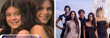 The Kardashians Re-Created Their Season 1 Intro And It's Incredible