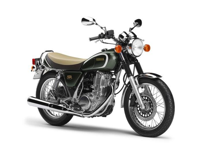 ヤマハの発売35周年記念の限定バイク「SR400」