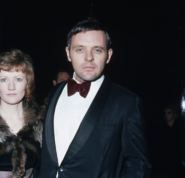 We're just saying, young Anthony Hopkins could GET IT.