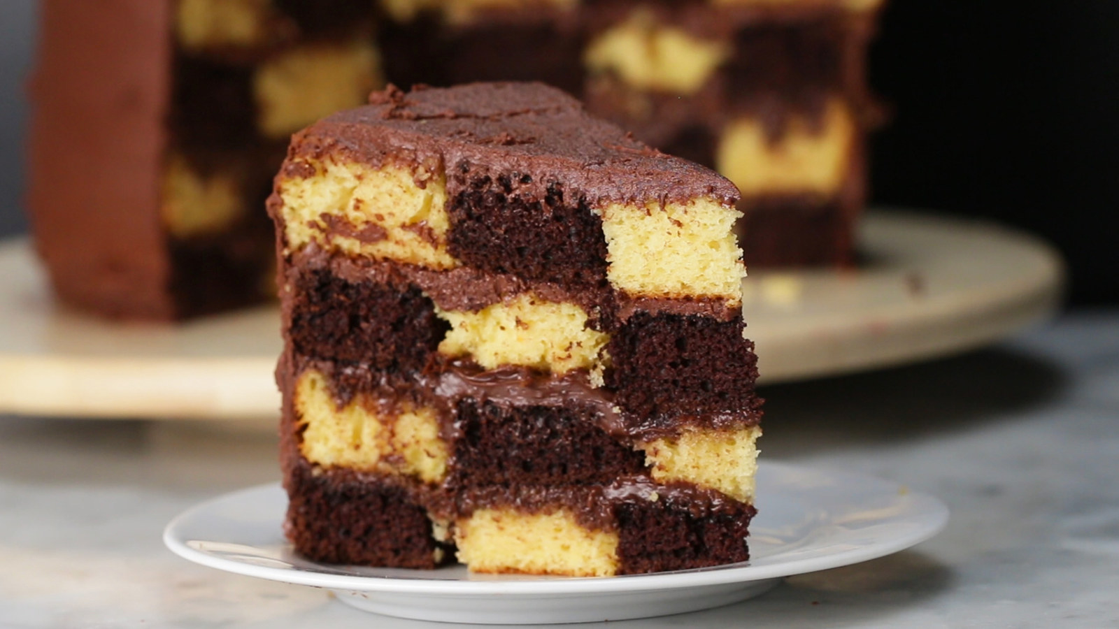 This Checkerboard Cake Will Make You Feel Things