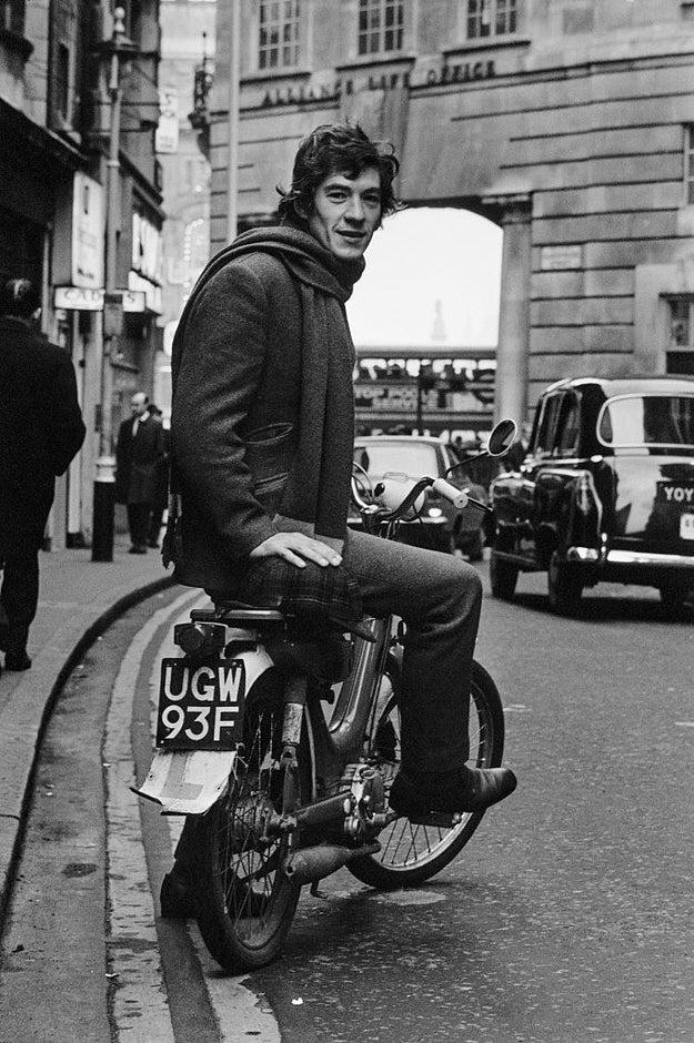 So could young Ian McKellen.