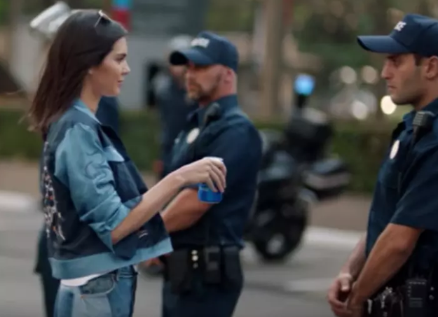 Hey, remember when Kendall Jenner fixed America by giving a police officer an ice-cold, refreshing Pepsi®?