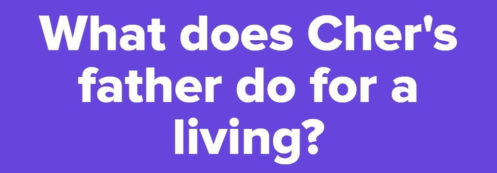 What Does Cheru0027s Father Do For A Living?