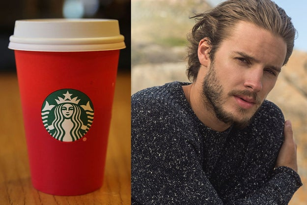 This is very simple: You will order a drink at Starbucks, and then you will design a perfect man. The man you see below is just a stock photo model – please go with your own personal desires!